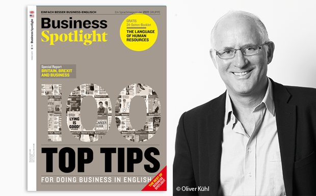 Ian McMaster mit Business Spotlight Cover