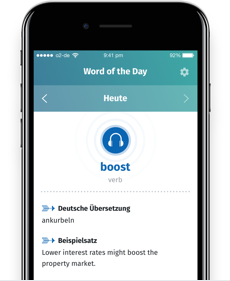 Business Spotlight Word of the Day App